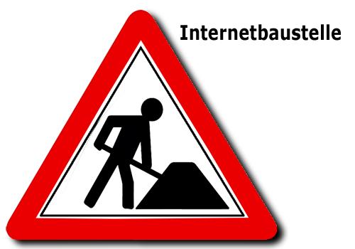 Internet Baustelle