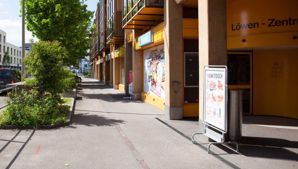 Limmattalbahn-Nein Bauprojekt Löwenstrasse Dietikon
