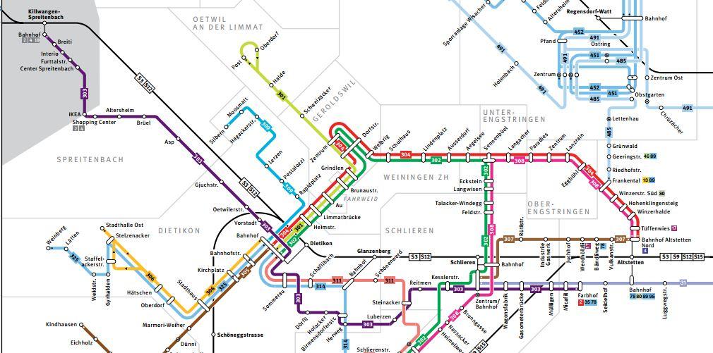 ZVV-Regionalnetz