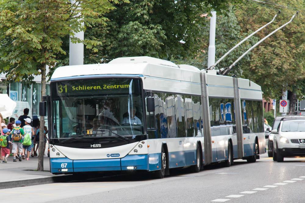 Bus nach Schlieren