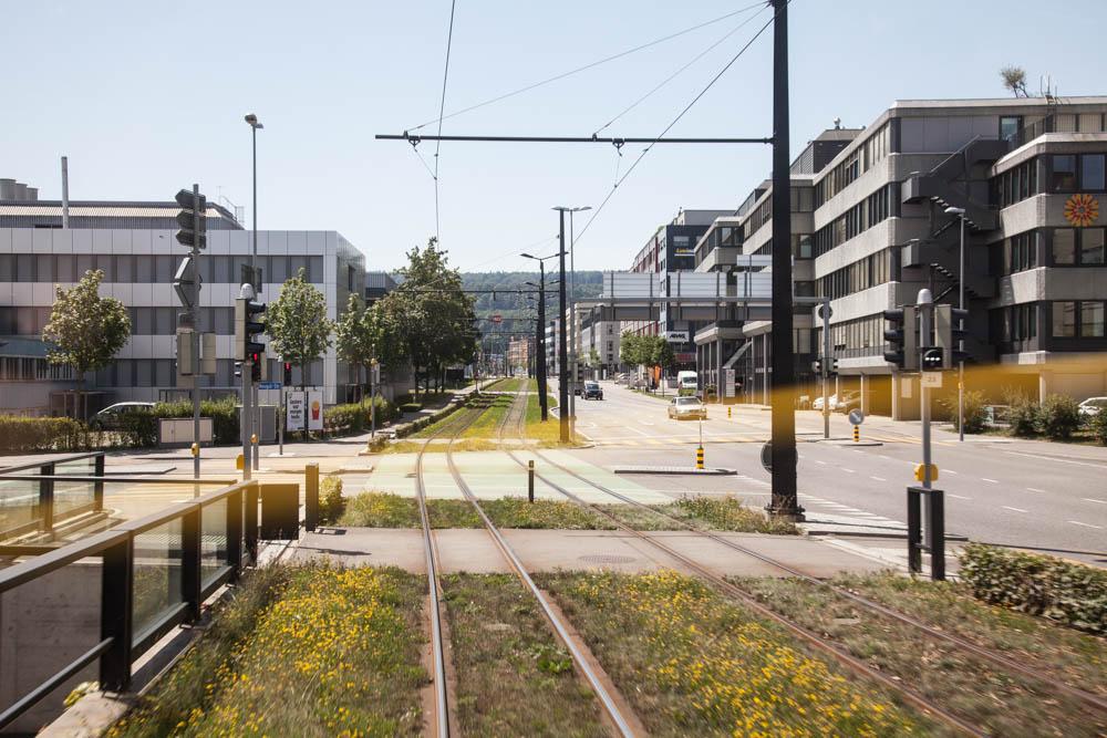 Glattalbahn Trassee