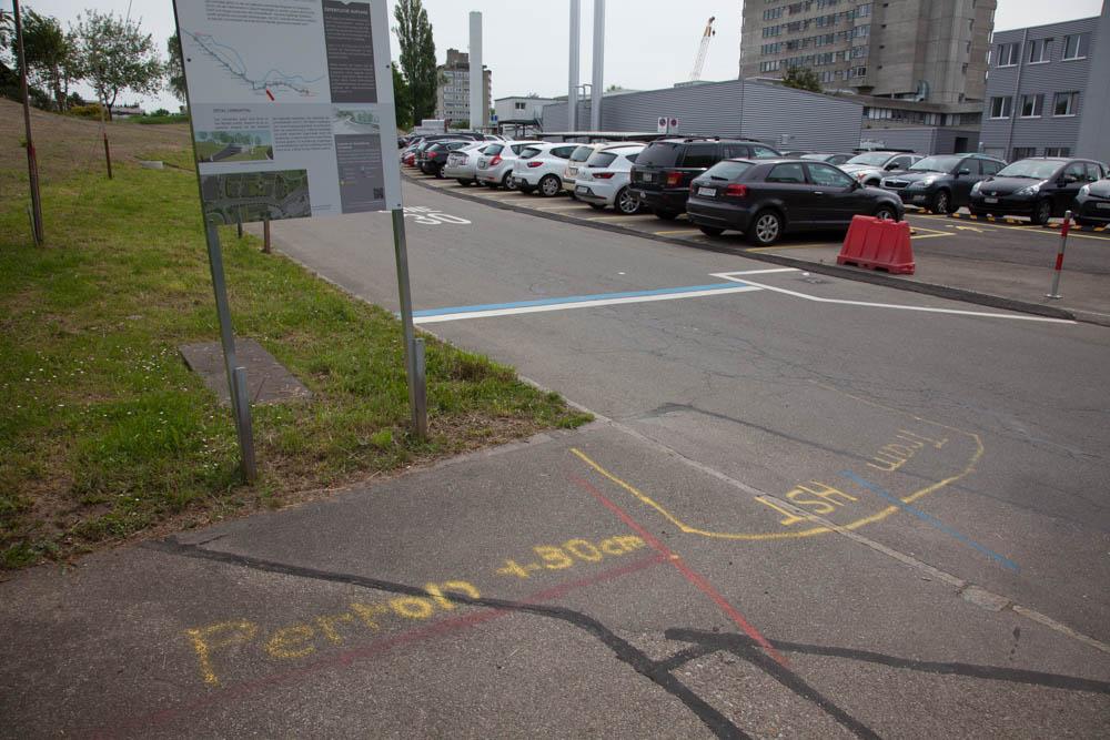 Markierungen Projekt Limmattalbahn