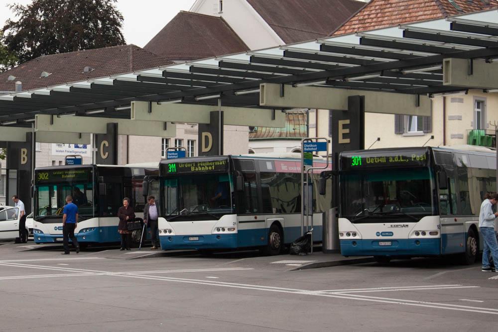 Bushaltestelle Bahnhof Dietikon